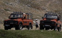 gay Land-Rover-Tour in Taurusgebirge - Pause in der Berg-Einsamkeit