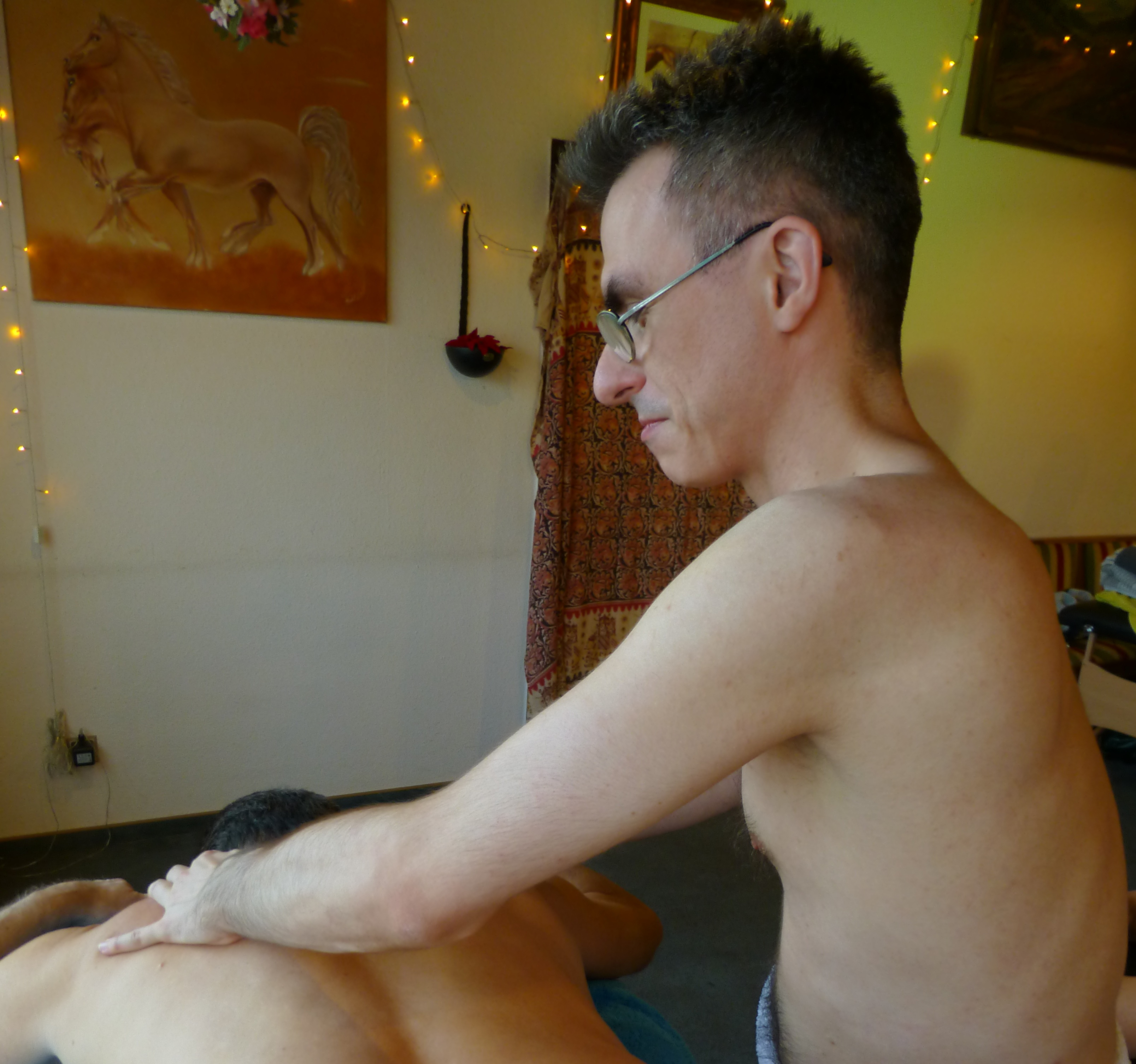 Nude girl being fucked by candlelight